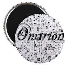 Omarion, Matrix, Abstract Art Magnet