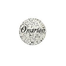 Omarion, Matrix, Abstract Art Mini Button