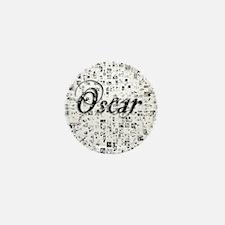 Oscar, Matrix, Abstract Art Mini Button