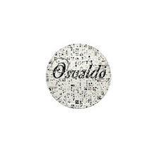 Osvaldo, Matrix, Abstract Art Mini Button