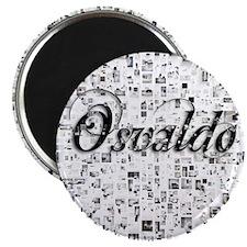 Osvaldo, Matrix, Abstract Art Magnet