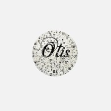 Otis, Matrix, Abstract Art Mini Button