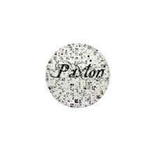 Paxton, Matrix, Abstract Art Mini Button