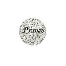 Pranav, Matrix, Abstract Art Mini Button