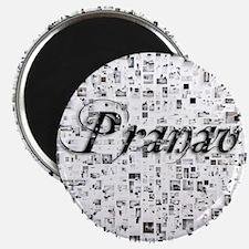 Pranav, Matrix, Abstract Art Magnet