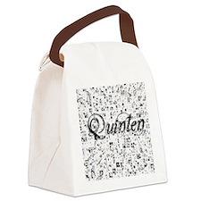 Quinten, Matrix, Abstract Art Canvas Lunch Bag
