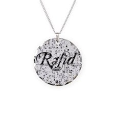 Rafid, Matrix, Abstract Art Necklace