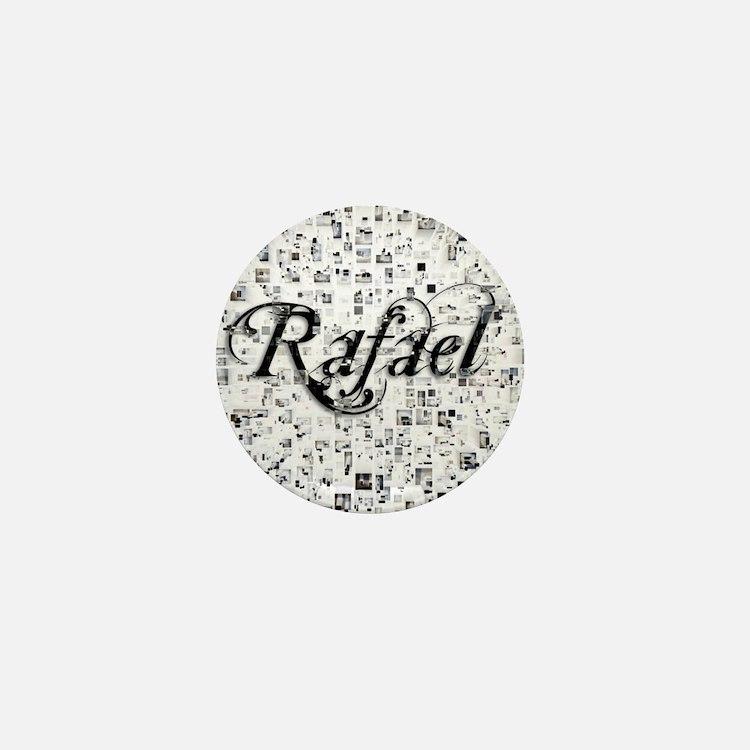 Rafael, Matrix, Abstract Art Mini Button