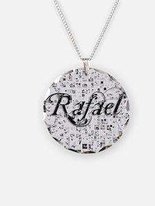 Rafael, Matrix, Abstract Art Necklace