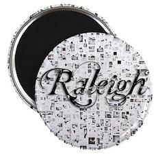 Raleigh, Matrix, Abstract Art Magnet