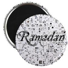 Ramadan, Matrix, Abstract Art Magnet