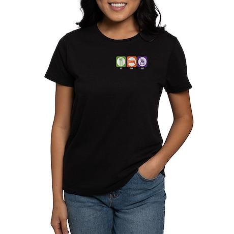 Eat Sleep Scout Women's Dark T-Shirt