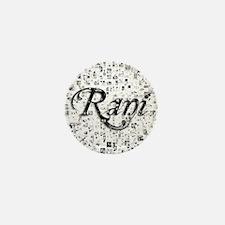 Rani, Matrix, Abstract Art Mini Button