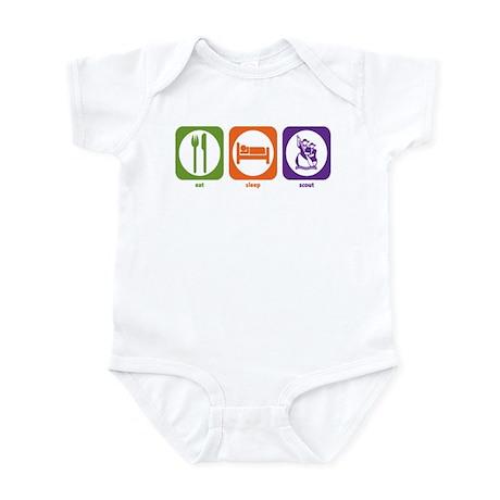 Eat Sleep Scout Infant Bodysuit