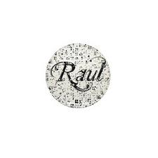Raul, Matrix, Abstract Art Mini Button