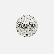 Rayhan, Matrix, Abstract Art Mini Button