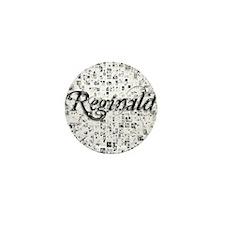 Reginald, Matrix, Abstract Art Mini Button