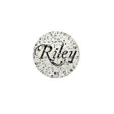 Riley, Matrix, Abstract Art Mini Button