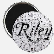 Riley, Matrix, Abstract Art Magnet
