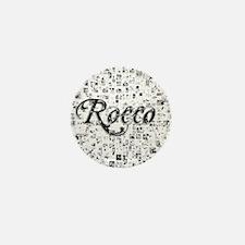 Rocco, Matrix, Abstract Art Mini Button