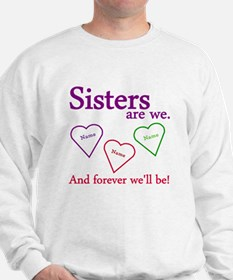Sisters Are We Personalize Jumper