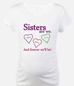 Sisters Are We Personalize Shirt