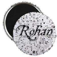 Rohan, Matrix, Abstract Art Magnet