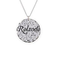 Rolando, Matrix, Abstract Ar Necklace