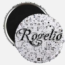 Rogelio, Matrix, Abstract Art Magnet