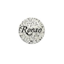Ronan, Matrix, Abstract Art Mini Button
