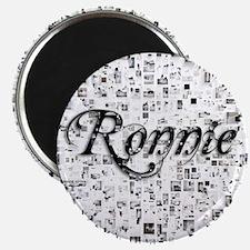 Ronnie, Matrix, Abstract Art Magnet