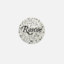 Roscoe, Matrix, Abstract Art Mini Button