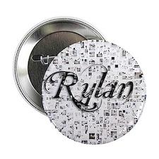 """Rylan, Matrix, Abstract Art 2.25"""" Button"""