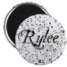 Rylee, Matrix, Abstract Art Magnet