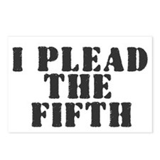 I PLEAD THE FIFTH Postcards (Package of 8)
