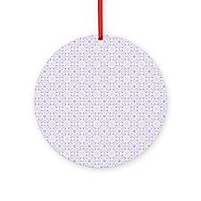 amara lavender Duvet Twin Round Ornament