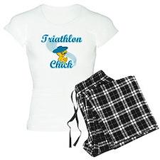 Triathlon Chick #3 Pajamas