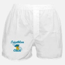Triathlon Chick #3 Boxer Shorts