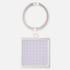 Amara lavender Shower curtain Square Keychain