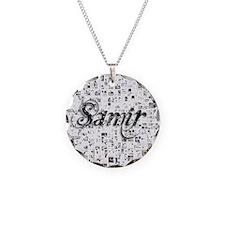 Samir, Matrix, Abstract Art Necklace