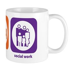 Eat Sleep Social Work Mug