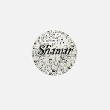 Shamar, Matrix, Abstract Art Mini Button
