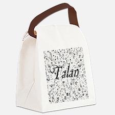 Talan, Matrix, Abstract Art Canvas Lunch Bag