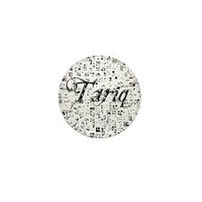 Tariq, Matrix, Abstract Art Mini Button