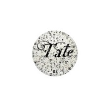 Tate, Matrix, Abstract Art Mini Button