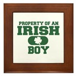 Property of an Irish Boy Framed Tile