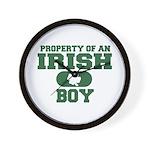 Property of an Irish Boy Wall Clock