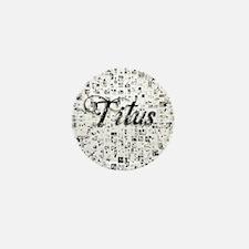Titus, Matrix, Abstract Art Mini Button