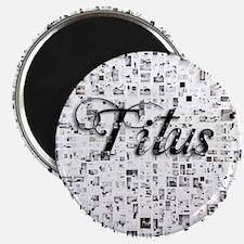 Titus, Matrix, Abstract Art Magnet