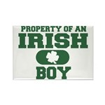 Property of an Irish Boy Rectangle Magnet